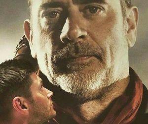 jeffrey dean morgan, Jensen Ackles, and supernatural image