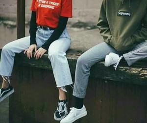couples, supreme, and tumblr image