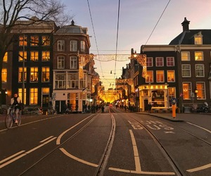 amsterdam, atmosphere, and christmas image
