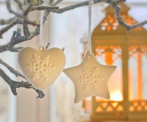 christmas, heart, and holiday image