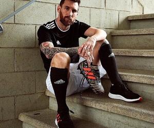 futbol, soccer, and messi image