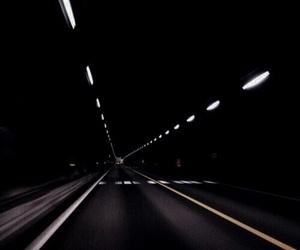 road, grunge, and dark image