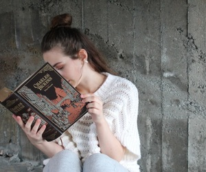 charles dickens, classic, and girl image