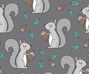 acorn, animal, and autumn image