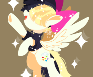 my little pony and songbird serenade image