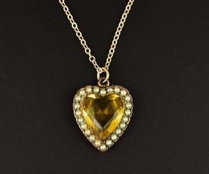 citrine, edwardian, and gold image