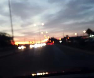 car, lights, and night image