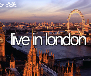 london, live, and Dream image