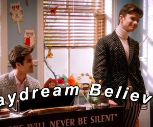 anderson, kurt and blaine, and gay image