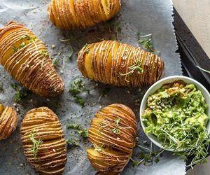 avocado, food, and potatoes image