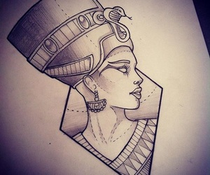nefertiti and Tattoos image