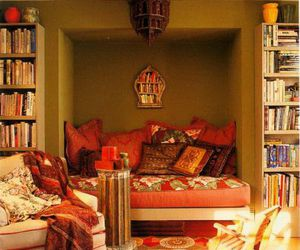 books, cozy, and design image