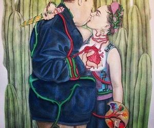 Frida, art, and diego image