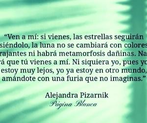alejandra pizarnik, si vienes, and estrellas seran igual image