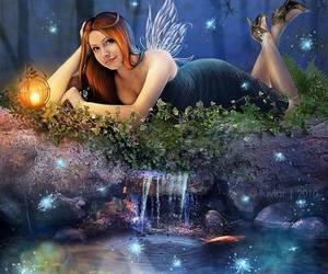 redhead fairy pond image