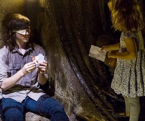 twd, carl, and the walking dead image