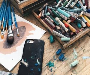 art, colour, and colours image