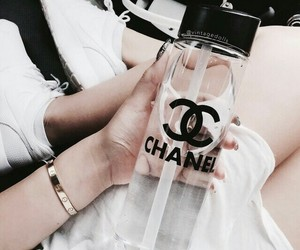 chanel, water, and luxury image