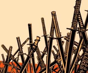 orange, sabre, and samurai champloo image