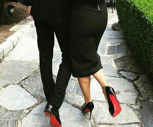 couple, black, and goals image