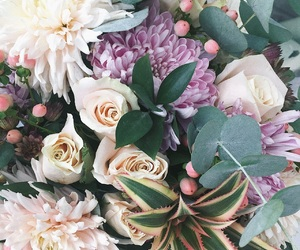 rustic, цветы, and букет image
