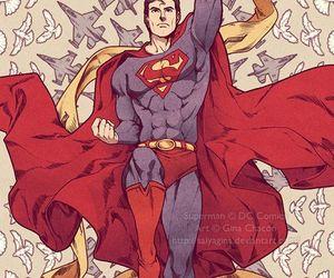 comics, artwork, and DC image