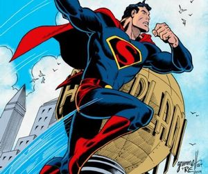 artwork, DC, and comics image