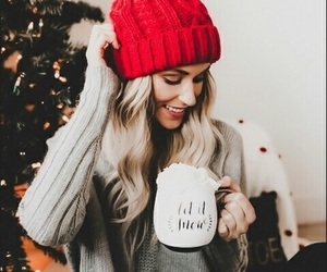 christmas, article, and girl image