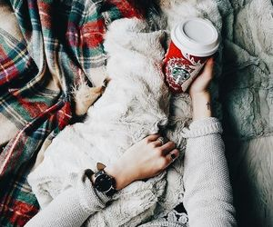 starbucks, christmas, and winter image