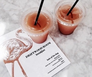 drink, food, and orange image