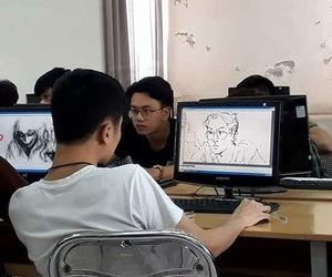 drawing and boy image