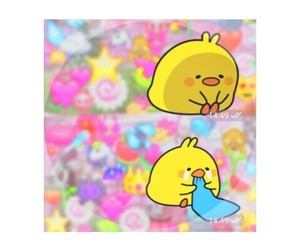 Chick, kawaii, and pastel image