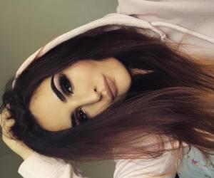 eyeshadow, girl, and lover image