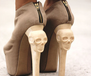 shoes, skull, and awwww i luv luv shoseee image