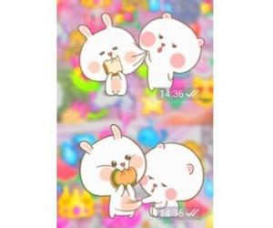 cute, حُبْ, and ملصقات image