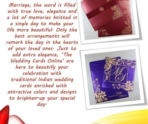weddings, hindu wedding cards, and indian wedding cards image