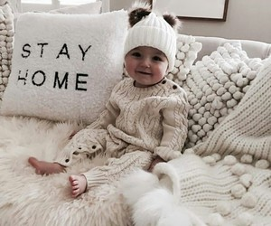 baby, cozy, and home image