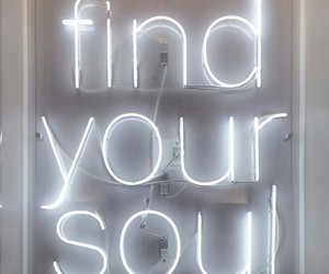 inspiration, find your soul, and lights image
