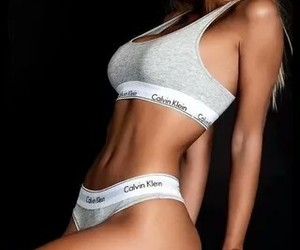 beauty, body, and Calvin Klein image