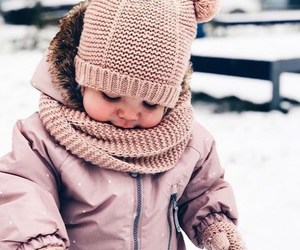 baby, cute, and winters image