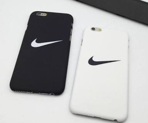 black, case, and nike image