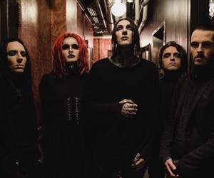motionless in white, band, and miw image