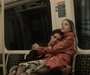 station, subway, and love image