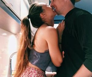 kiss, couple, and love love love image