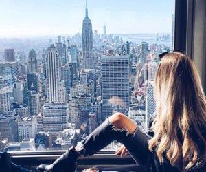girl and new york image
