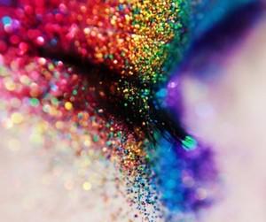 rainbow eyes image