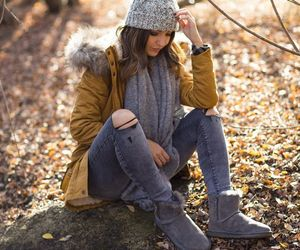 brunette, cool girl, and fashion image