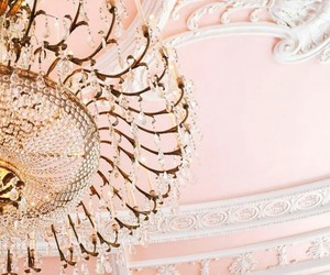 chandelier, lights, and luxurious image