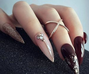 nails, art, and fashion image