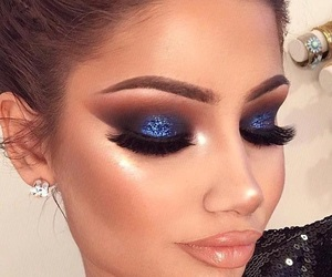 blue, gloss, and goals image